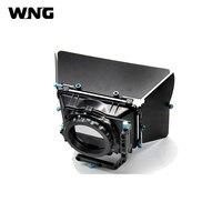 M2 DSLR Rig Матовая коробка для 15 мм железнодорожных стержень поддержки последующей фокусировки 550D 60D 600D 5D2