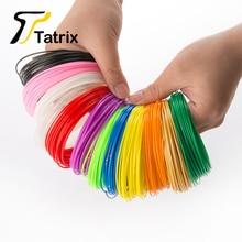3.5M 20 Roll/Lot 20 Colors Total 70M Good Mobility 3D Filament ABS/PLA 1.75mm 3D Printer Supplies Materials For 3D Printing Pen