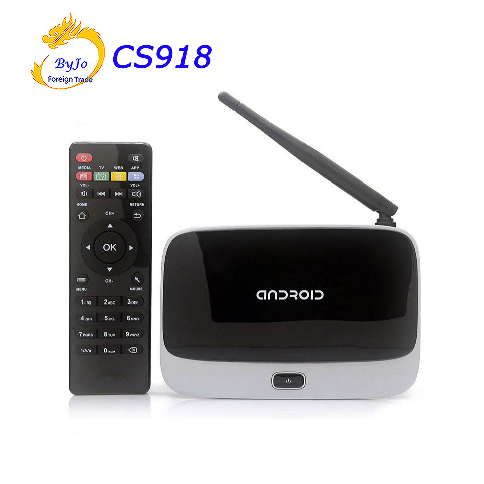 NEWest 4K Upgraded CS918 ( RK3229) KODI 16.1 2G DDR3 8G/16G/32G Flash Quad Core CPU Support 4K Android TV Box WiFi HDMI