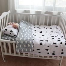 Комплект постельного белья для новорожденных 3 предмета простыни