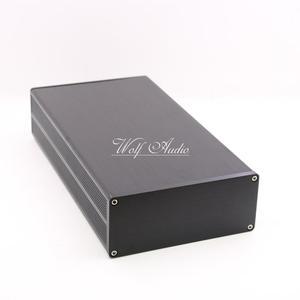 Image 3 - BZ1306B алюминиевый корпус, тонкий корпус DAC мини аудио усилитель чехол усилитель шасси DIY блок питания