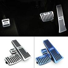 Non-Drilling Car Accelerator Gas Brake Pedal Plate Pads Non-slip Cover Case For Kia Sportage 2016 2017 2018 LHD AT Accessories