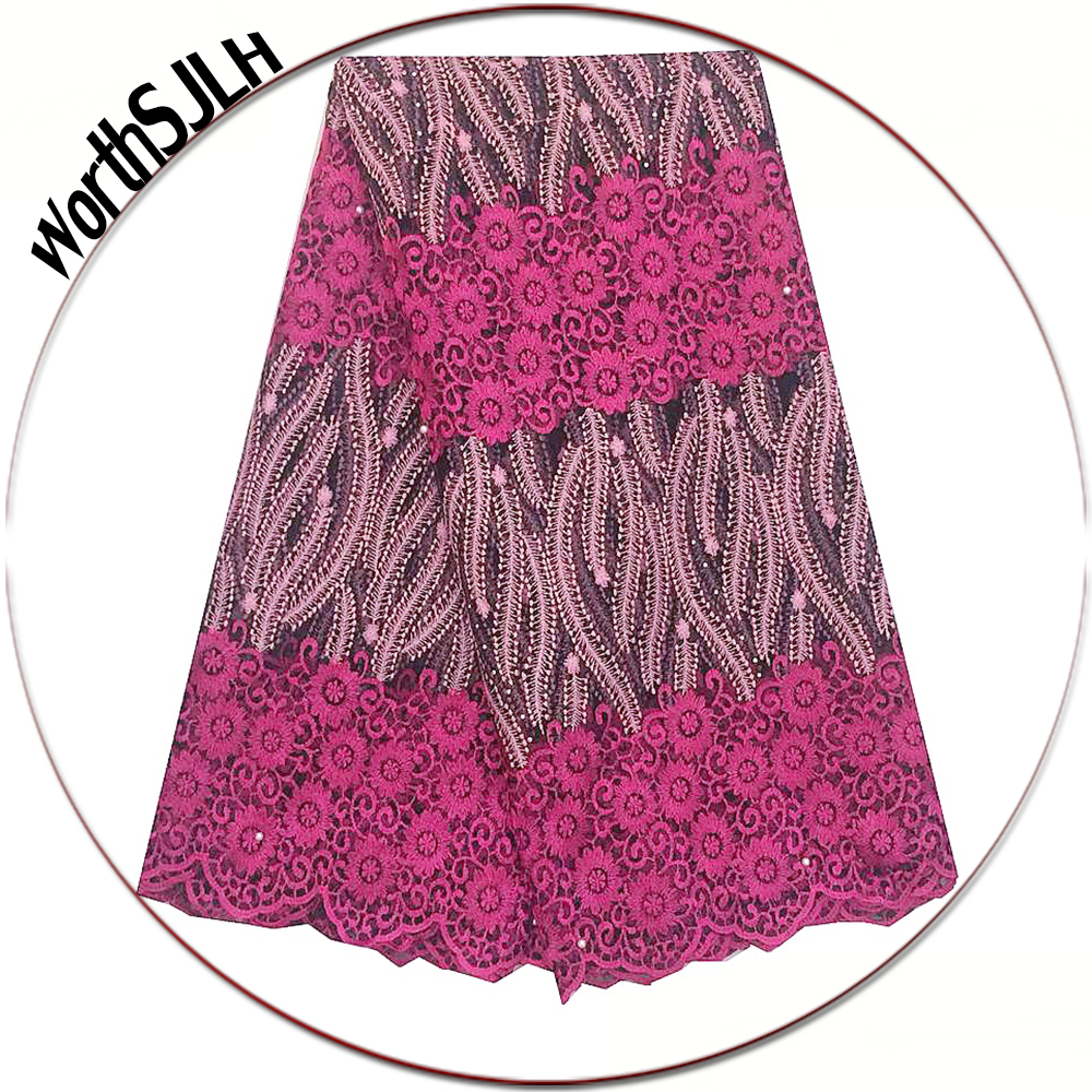 Aliexpress.com : Buy Pink African Lace Fabric 2018 High