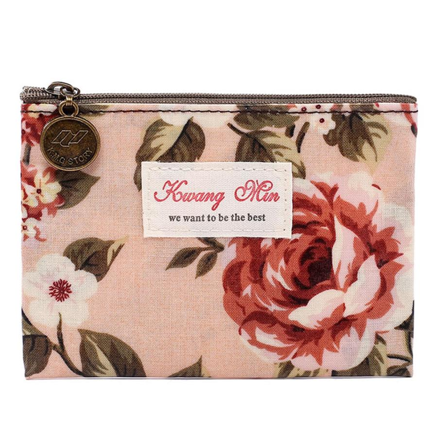 Wallet Women Coin-Purse Maison Waterproof Fashion Ladies Cotton Fabre with May3/40-L10