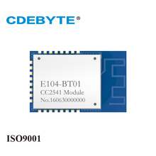 CDEBYTE E104-BT01 CC2541 2.4GHz Wireless Bluetooth 4.0 ibeacon Transceiver rf Module 2.4G SMD SPI Fixed Wireless Terminal 10 sets dialog 14580 wristband beacon bluetooth 4 0 programmable ibeacon hardware