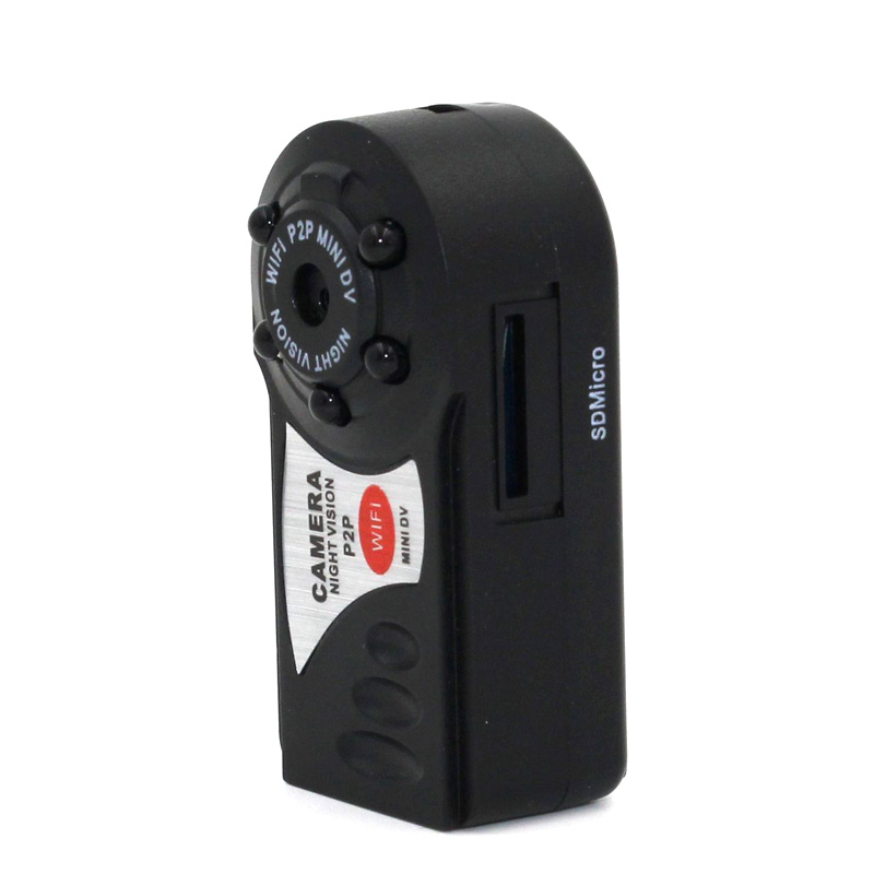 Wireless Remote Camera DVR Infrared Night Vision Sport IP Camcorder Motion Detection Video Recorder Q7 Mini Wifi Cameras XXM8