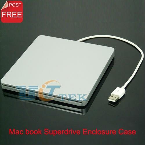 External USB Enclosure Case for Apple MacBook IDE Connection Slot in SuperDrive