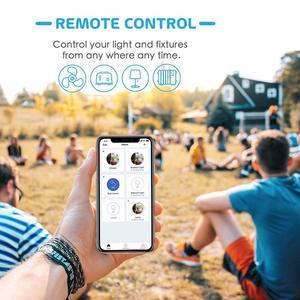 Image 5 - Smart WiFi Plug, Energy Monitor, Alexa e Google Assistant e SmartThings e IFTTT supportati, telecomando App MSS310 Standard ue