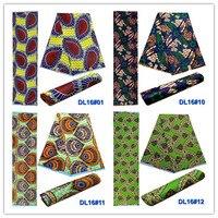 2018 thiết kế thời trang chất lượng cao phi vải in vải polyester sáp cho bên, giá bán buôn 6 yards YG16