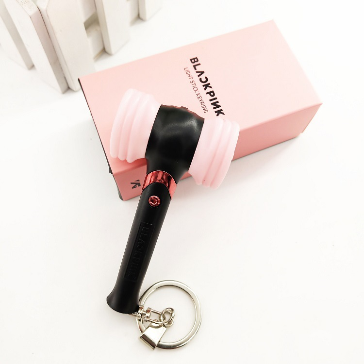 [MYKPOP]BLACKPINK MINI Light Stick With Ring,  Fans Concert Supporting Lightstick KPOP Fan Gift Collection SA19060304