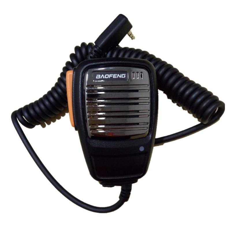 2018 Baofeng Mikrofon Lautsprecher MIC für baofeng UV-5R Pofung UV5R UV-5RE UV-B6 BF-888S BF-UVB2 Plus Zwei zwei-wege-raido kostenloser versand