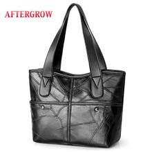 2019 New Totes Female Messenger Bag grand Sheepskin Leather Bags Lady Patchwork Crossbody Bags For Women Genuine Leather Handbag