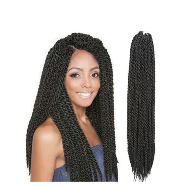 New Style 4d Cubic Twist Hair Crochet Braids Box Braids Synthetic