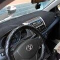 Car dashboard covers Instrument platform pad car accessories sticker  for toyota VIOS Yaris Sedan  2013 2014 2015 2016
