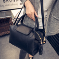 2017 New Spring Fashion Brief Vintage Women Handbag Messenger Boss Bucket Handbag Large Bag