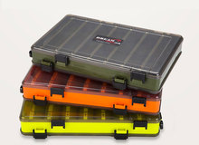 Multifunctional Fishing Lure Box Single/Double Side Storage Accessories Minnows Bait Container B283