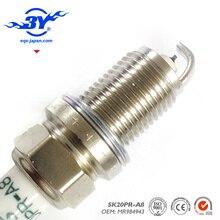 4 pçs/lote. SK20PR-A8 MR984943 Iridium Spark Plug Para V77 MR 984943 SK20PR A8 SK20PRA8