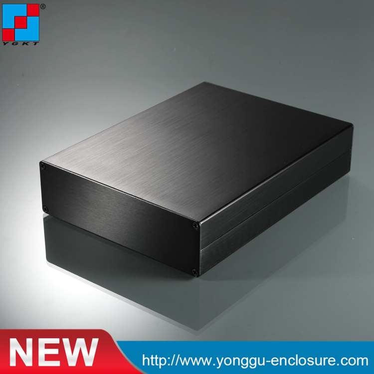 152-44-200 mm (W-H-L)pcb enclosure  junction box aluminum electronics aluminum case diy electrical cabinet 1 piece free shipping wire drawing black color 45 h x152 w x200 l mm aluminium junction box manufactures in china