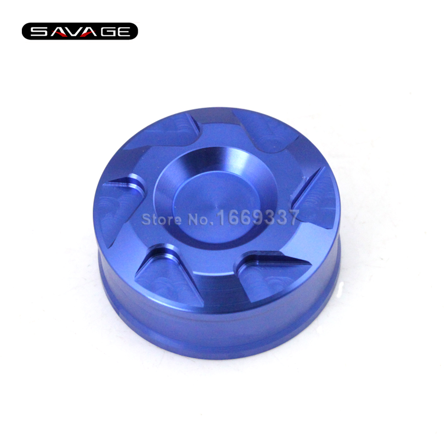 For YAMAHA YZF R25/R3 YZF-R3 YZF-R25 2014-2015 Blue Motorcycle Accessories Rear Brake Fluid Reservoir Cover Cap CNC Aluminum for yamaha yzf r25 r3 yzf r3 yzf r25 2014 2015 motorcycle accessories rear brake fluid reservoir cover cap cnc aluminum