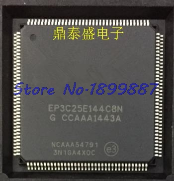 2pcs/lot EP3C25E144C8N EP3C25E144 EP3C25E QFP144-in Integrated Circuits from Electronic Components & Supplies