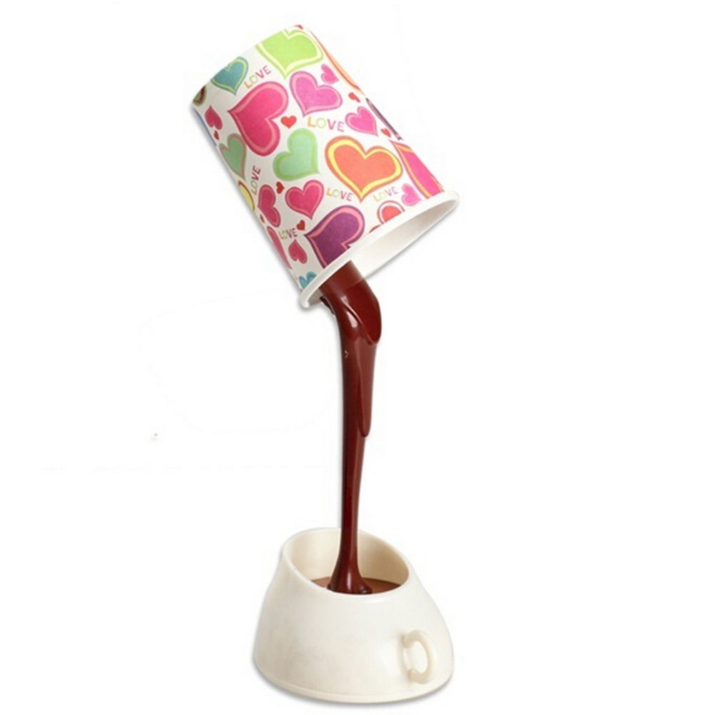 1 Set Creative DIY Home USB Pouring Coffee Table Light for ...