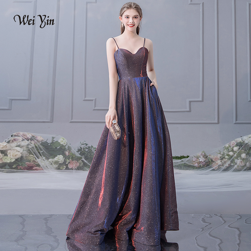 weiyin Long   Evening     Dresses   Sexy Sweetheart Women's 2019 Elegant Sleeveless Long Prom   Evening   Party   Dresses   WY1479
