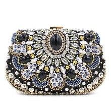 2016 European and American gem diamond evening bag hand cheongsam package upscale banquet BB157