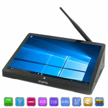 PiPo X10 Pro Mini PC Dual OS Android Windows 10 TV Box Intel Z8350 Quad Core 4G RAM 64G ROM IPS PC 10000mAh Set Top Box pipo x8s mini pc dual hd graphics windows10 os intel z3735f quad core 2gb 32gb 7 inch screen tablet tv box