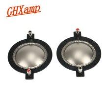 GHXAMP 74.5mm haut parleurs à bobine vocale aigus titane Film Tweeter anneau diaphragme vocal haut parleur accessoires bricolage 1 paires