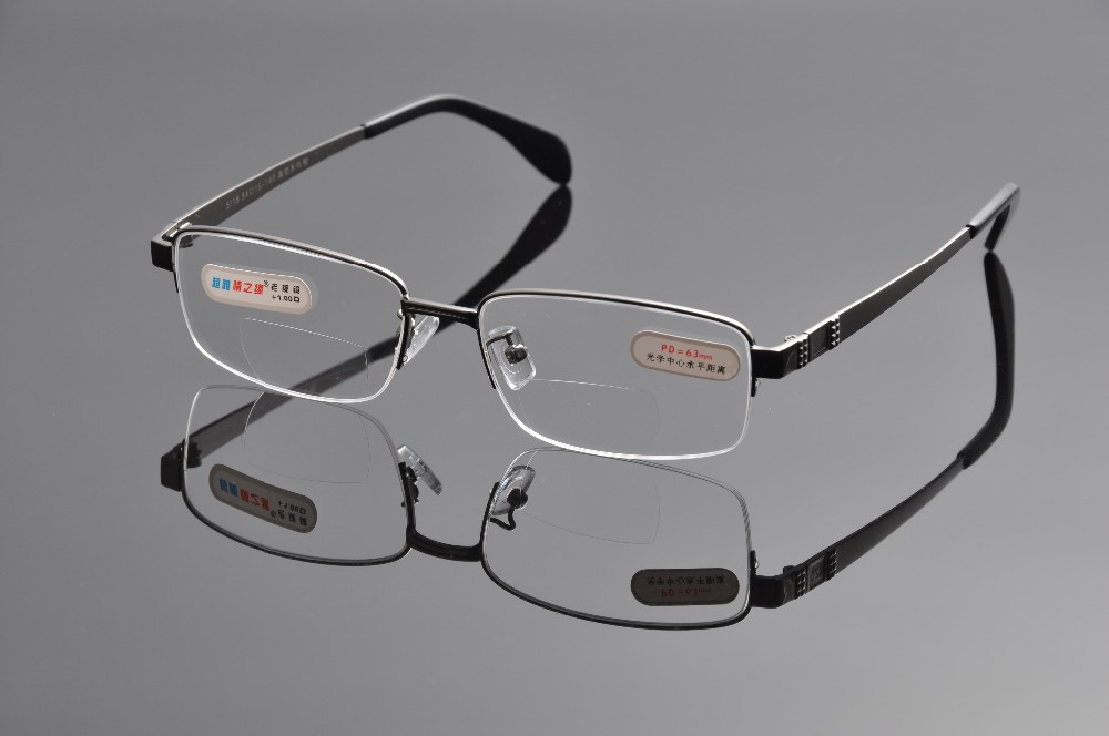 08fe3b8544 Reading Glasses Men Bifocal Mirrored Reading Glasses For Sight ...