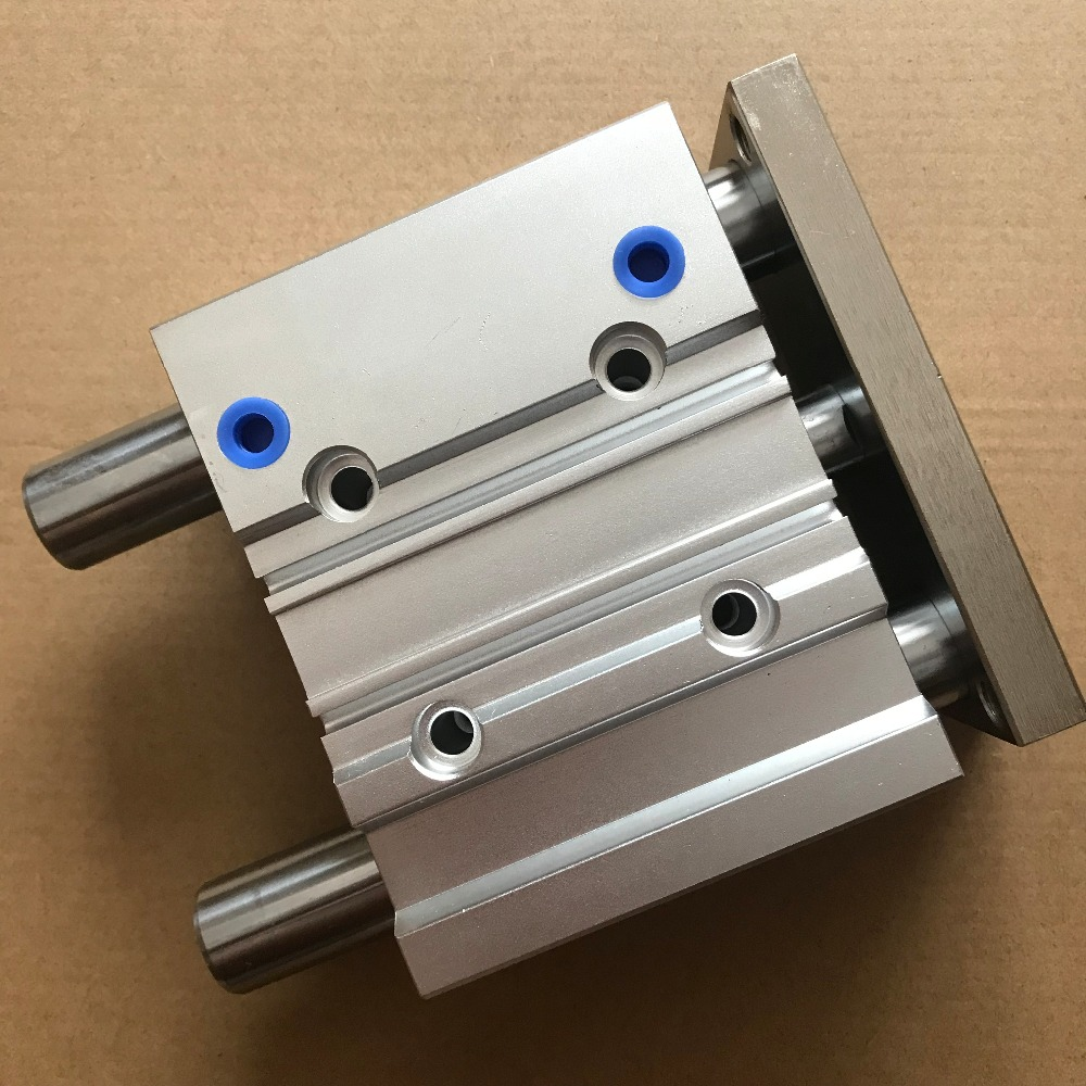 bore size 16mm*50mm stroke Type Compact Guide Pneumatic Cylinder/Air Cylinder MGPM Series bore size 32mm 10mm stroke smc type compact guide pneumatic cylinder air cylinder mgpm series