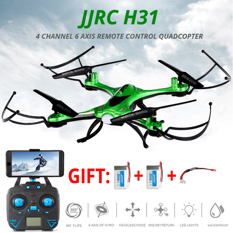 JJRC H31 Waterproof Drone No Camera Or With Camera Or Wifi FPV Camera Headless Mode RC Helicopter Quadcopter Vs Syma X5c Dron keenion kos 588 wired stereo headset headphones w microphone black 3 5mm plug