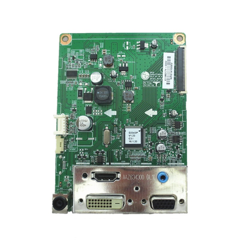 Driver board For D2743P D2343P D2343PB Good Working Tested dhl ems used for sch neider vx5a1hd22n4 power driver board tested
