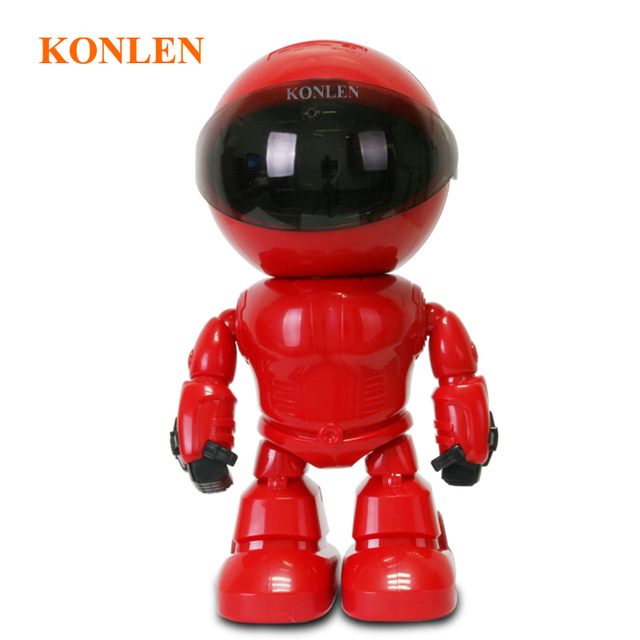 KONLEN Home Security Robot IP WIFI Camera HD 1080P 960P 2MP CCTV Baby Monitor Wireless CMOS YOOSEE IR Cut Audio Night Vision