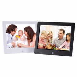 8 inch digital picture frame digital photo frame support 720P resolution 1024X768 auto play picture video digital album