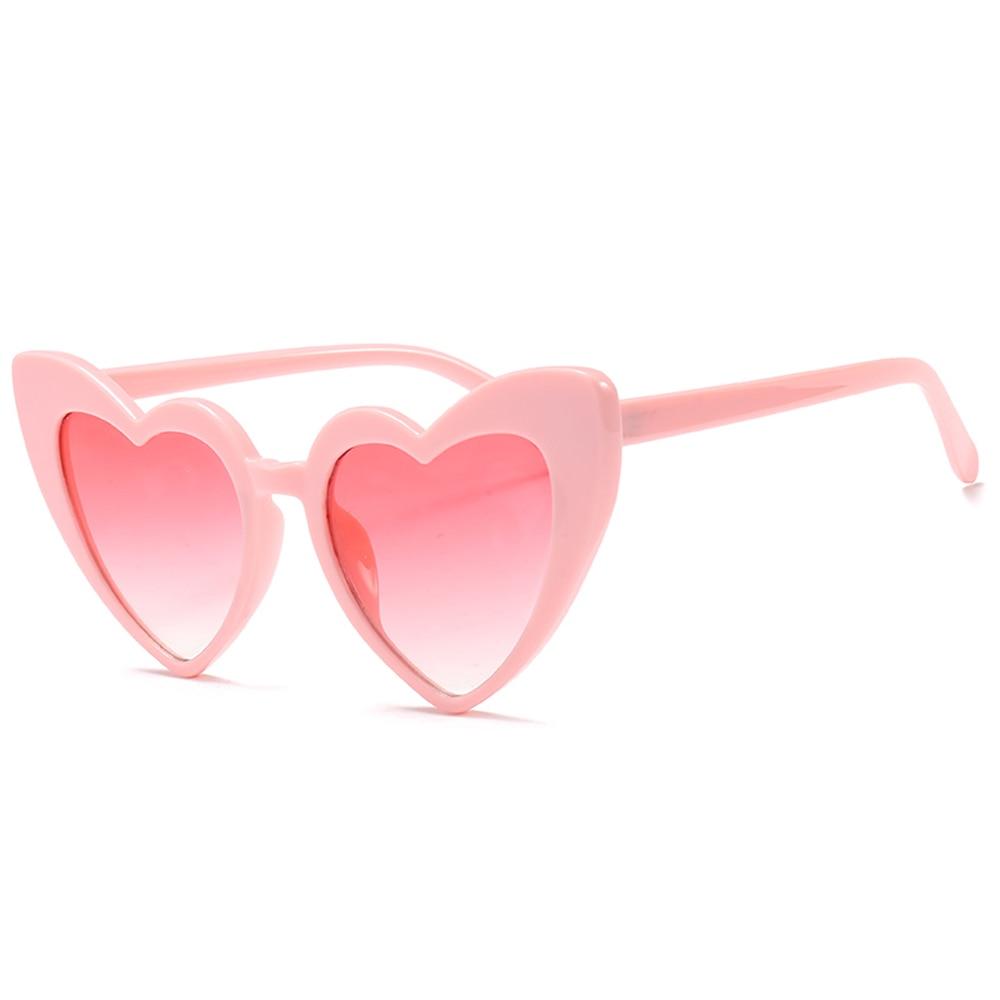 568591f61f3 Peekaboo love heart sunglasses women cat eye vintage Christmas gift black  pink red heart shape sun glasses for women uv400-in Sunglasses from Apparel  ...