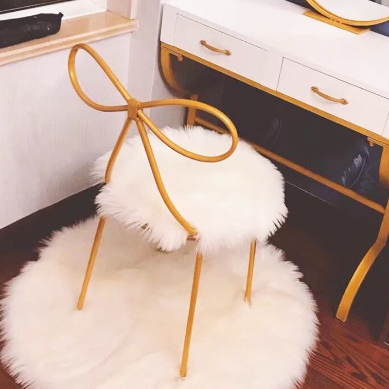 35/40cm Soft Artificial Wool Sheepskin Cushion Chair Bedroom Mat Artificial Wool Rug Warm Hairy Carpet Seat Fur Area Rugs