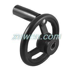 1 шт. черный фрезерный станок Lathe200mm диаметр Spoked ручное колесо для бесплатной доставки