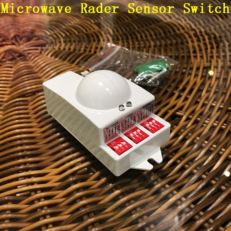 Intelligent switch LED energy - saving lamp sensor radar detector LED incandescent sensor switch manufacturers wholesale CM093 lamp detector lamp beauty detector lamp wood lamp animal pet