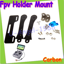 1 компл. FPV держатель кронштейн для 7 8 дюймов монитор Displayer Futaba JR Wfly RC контроллер передатчик очки