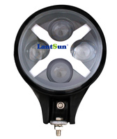 Pair J104 6 inch 60w led spot light for Wrangler, truck, 4X4 off road vehicle IP67 4800lm with orange cover auto products
