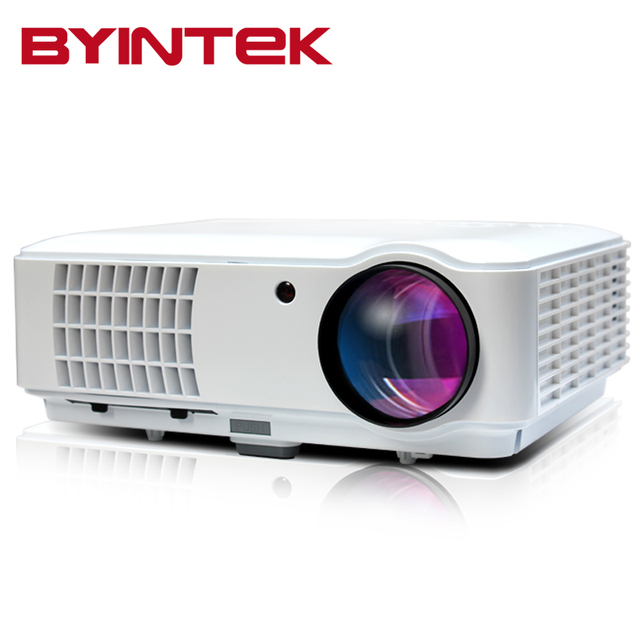 BYINTEK RD804 Новый 200 дюйма WXGA 1280x800 1080 P cL720 LCD PC фильм ТВ DVBT Кино HDMI HDTV USB Видео LED HD проектор
