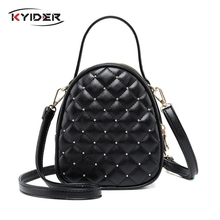 KYIDER Luxury Handbags Women Bags Designer Small Shoulder Bag Fashion Plaid PU Leather Crossbody for Messenger