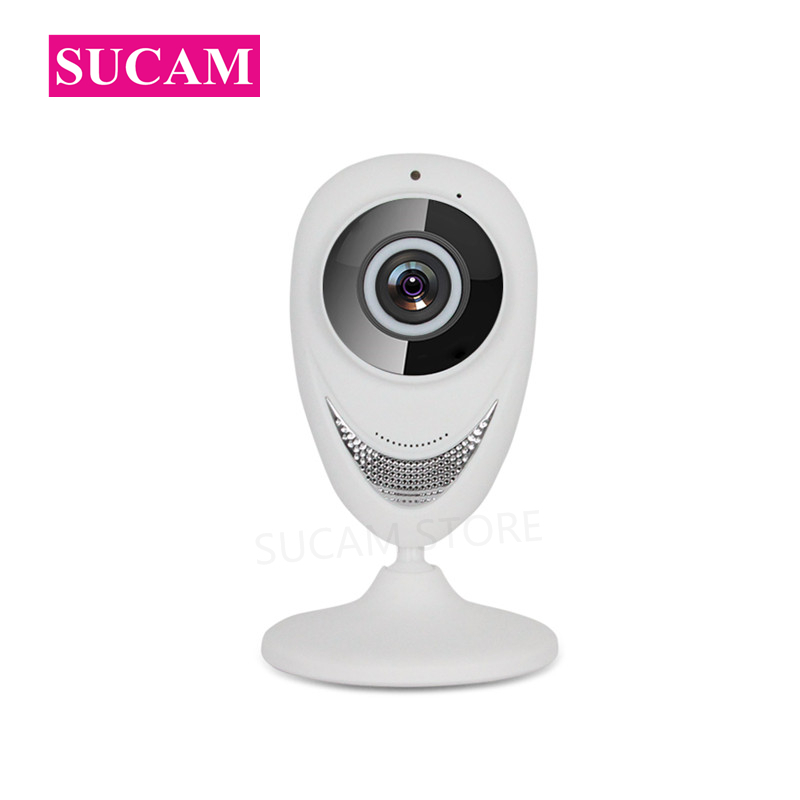SUCAM 180 Degree Wireless Fish Eye IP Camera Mini 960P 1080P Wide Angle Home Security Surveillance Cameras with 10M Infrared 180 degree wide angle fish eye lens for cell phones and digital cameras black