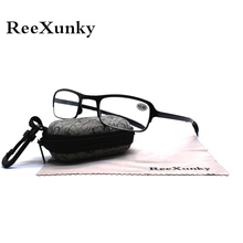 ReeXunky Best Anti-fatigue Reading Glasses For Men Women Pocket Portable Folding TR90 Spectacles Magnifier Eyeglasses With Case