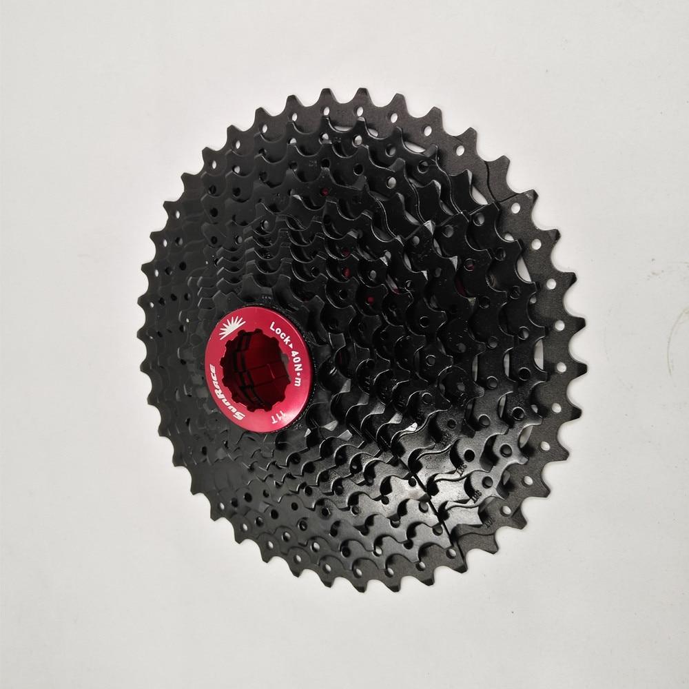 Sunrace 11 40T Road Bike Cassette 11Speed Bicycle flywheel Cycling Freewheel