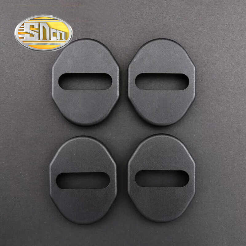 4pcs For Kia Optima K5 Carens KX3 KX5 K4 Car Door Lock Buckle Cover Case Waterproof Rust-proof Auto Accessories Car-styling