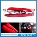 LY010-1 LEVOU Choques Refletor Lente Vermelha Da Cauda Luz de Freio para 2009-2012 Toyota Camry Reiz