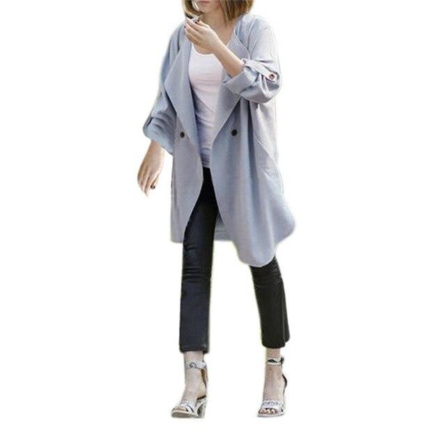 Snowshine #3042 Женская Мода Пальто Траншеи Ветровка Куртка Верхняя Одежда Кардиган БЕСПЛАТНАЯ ДОСТАВКА