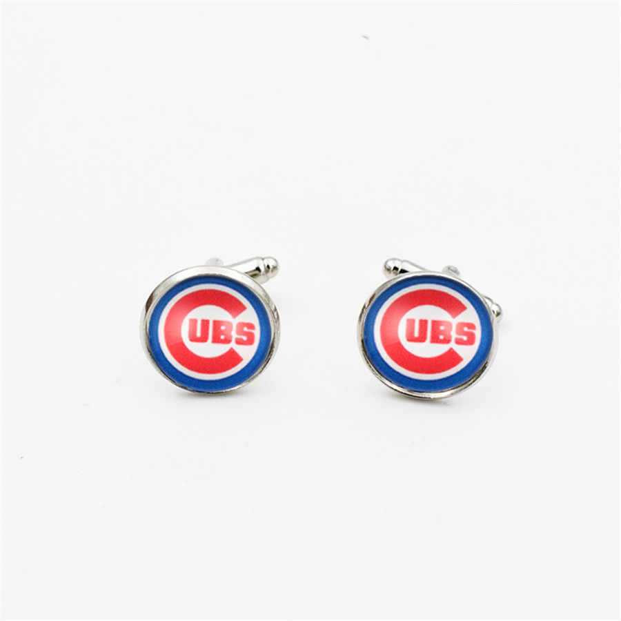 dd4af1f41 Detail Feedback Questions about 10PCS High Quality Glass Chicago Cub Sport  Team Earring Dangle Shoe buckle Necklace Ring Series Jewelry on Aliexpress.com  ...